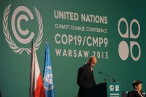 conférence internationale sur le climat à Varsovie